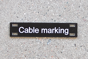 traffolyte cable marking